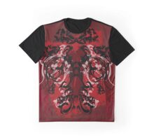 Grunge and Skulls Graphic T-Shirt