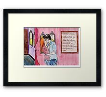 Ginny and Harry.  Framed Print
