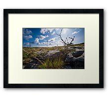 Beautiful Burren Framed Print
