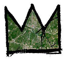 "Basquiat ""King of Austin Texas"" Photographic Print"