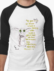 Inferiors, Dobby. Men's Baseball ¾ T-Shirt