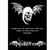 foREVer Fiction Quote  Photographic Print