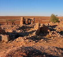 Mulka Store Ruins  by BronwynParry186