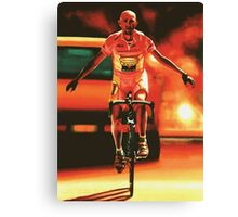 Marco Pantani Painting Canvas Print