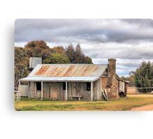 Old Homestead Bungendore  NSW Canvas Print