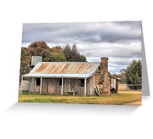 Old Homestead Bungendore  NSW Greeting Card