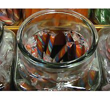Candy Sticks Photographic Print