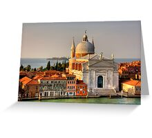 Chiesa del Redentore Greeting Card