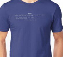 BSOD Human Unisex T-Shirt