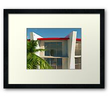 The Old Bay House Framed Print