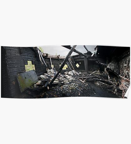 Destroyed By Fire Poster