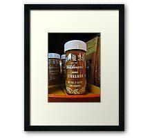 Ground Cinnamon Framed Print