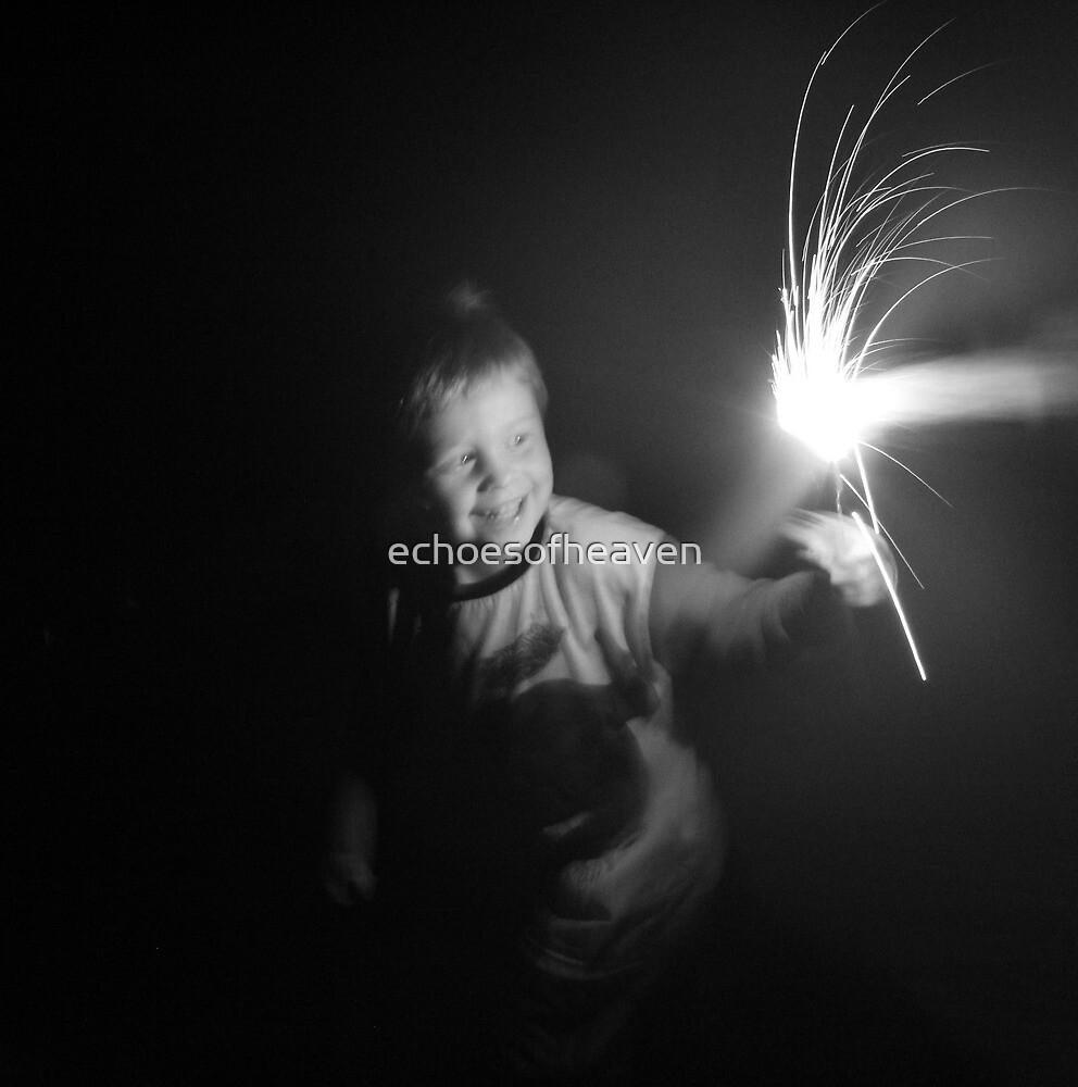 """Sparkler Fun 2""  by Carter L. Shepard by echoesofheaven"