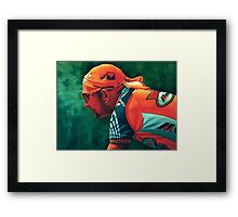 Marco Pantani The Pirate Framed Print