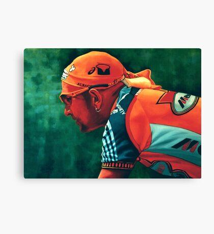 Marco Pantani The Pirate Canvas Print