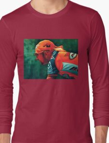 Marco Pantani The Pirate Long Sleeve T-Shirt