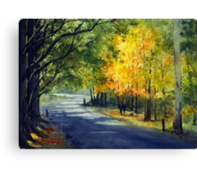 Mount Wilson in Autumn, Blue Mountains, Australia Canvas Print