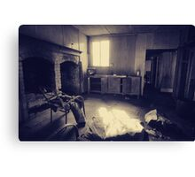 Abandoned house, Coolongolook NSW Canvas Print