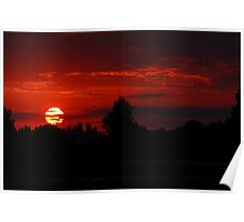 The Beautiful End of a Beautiful Day Poster