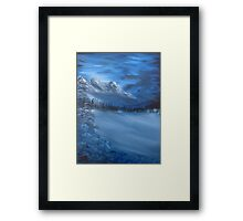 """Blue Ridge""  by Carter L. Shepard Framed Print"