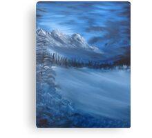 """Blue Ridge""  by Carter L. Shepard Canvas Print"