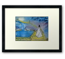 """Anticipation""  by Carter L. Shepard Framed Print"