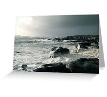 Beneath the cliffs of Moher - West Ireland Greeting Card