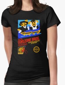 Super Corleone Bros Womens Fitted T-Shirt