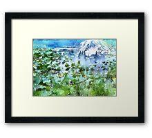 Gletscher Framed Print