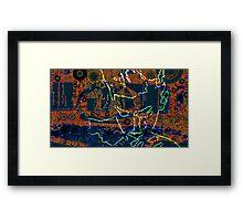 imTempel Framed Print