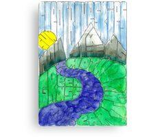 WordScape Canvas Print