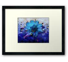Himmelsblüte Framed Print
