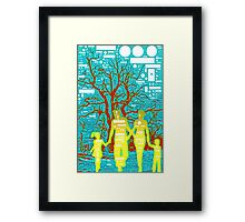 Familie Framed Print