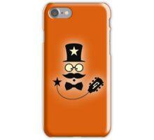 Vintage Guitarist Cartoon iPhone Case/Skin