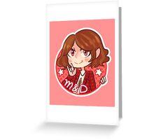 Super Junior - Heechul (M&D) Greeting Card