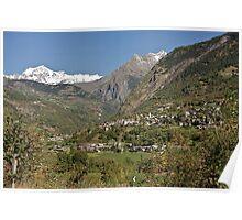 Val d'Aosta, Italy Poster
