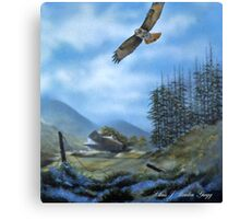 Redtail Sky Canvas Print