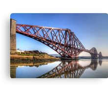 North Queensferry Reflections Canvas Print