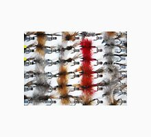 Hand-Tied Flies for Flyfishing Unisex T-Shirt