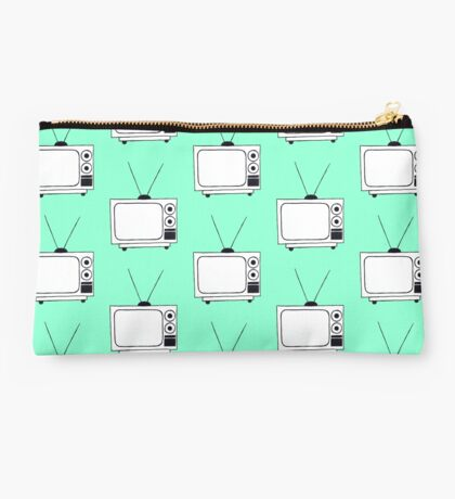 Old Television Studio Pouch