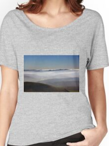 Misty Lanarkshire View Women's Relaxed Fit T-Shirt