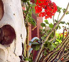 Blooming skull by Riko2us
