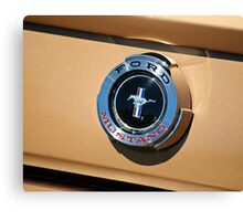 Ford Mustang Emblem Canvas Print