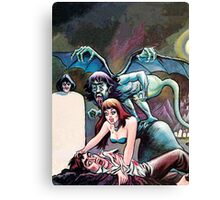 Eerie Publications Textless cover #2 Canvas Print