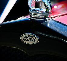 1930 Ford Quail Hood Ornament by Diego  Re