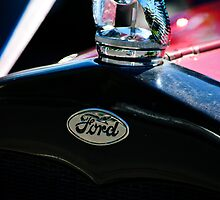 1930 Ford Quail Hood Ornament by Agro Films