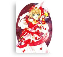 Cardcaptor Sakura Red Galaxy Canvas Print