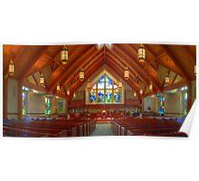 North Raleigh United Methodist Church - Sanctuary  Poster