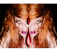 Witch Bitch Photographic Print
