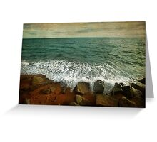 Beside the Sea IV Greeting Card